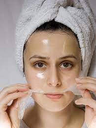 سفید کردن پوست صورت با مواد ارگانیک و طبیعی