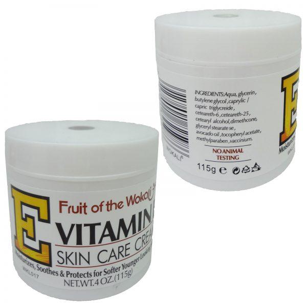 کرم آبرسان ویتامین E